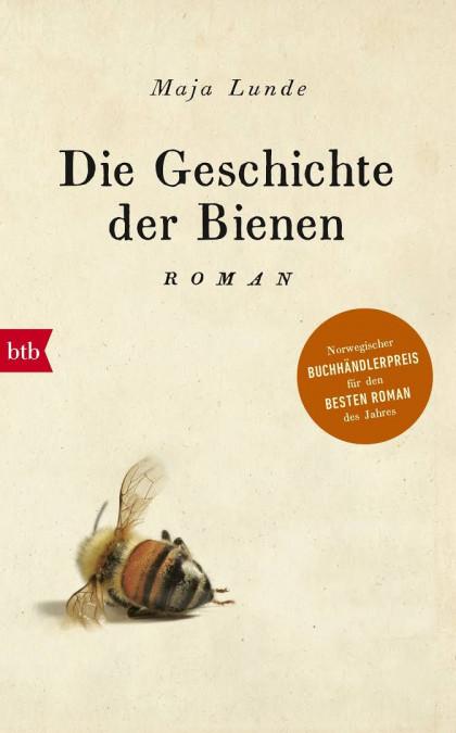 Buchcover von Die Geschichte der Bienen