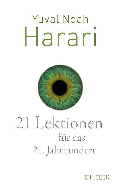 Buchcover von 21 Lektionen für das 21. Jahrhundert
