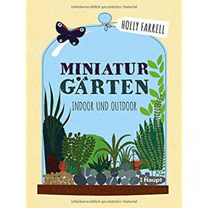 Buchcover von Miniaturgärten