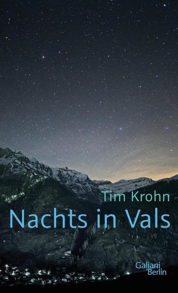 Buchcover von Nachts in Vals