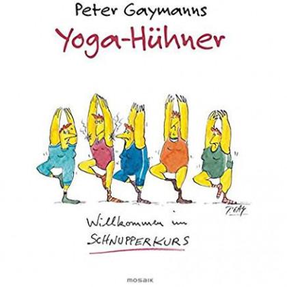 Buchcover von Yoga-Hühner